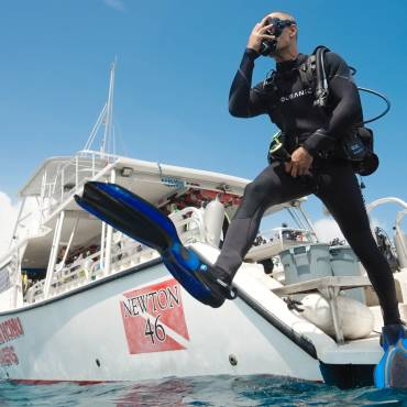 Five Tips for Making a Negative Entry | Scuba Diving